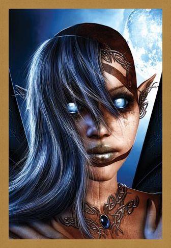 Framed Framed Sci -Fi Fairy - Ravenheart