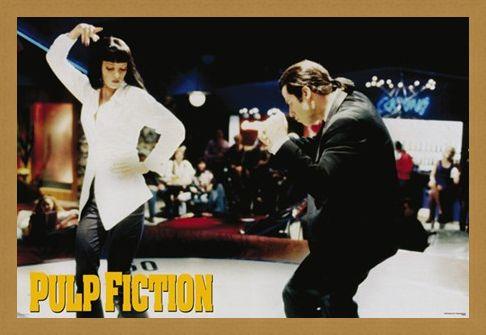 Framed Framed Jackrabbit Slim's - Pulp Fiction