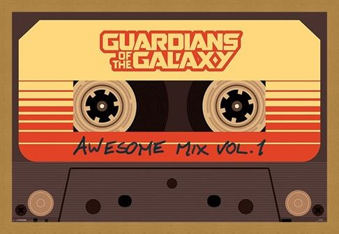 Framed Framed Awesome Mix Vol 1 - Guardians Of The Galaxy