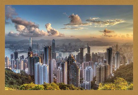 Framed Framed Victoria Peak - Hong Kong