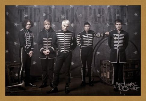 Framed Framed The Black Parade - My Chemical Romance
