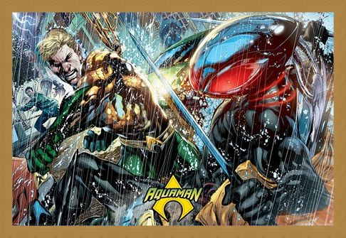 Framed Framed Atlantean Punch - Aquaman