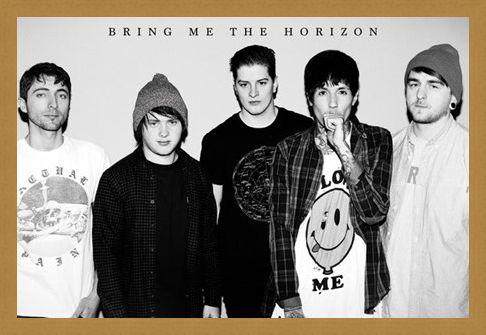 Framed Framed Sempiternal - Bring Me The Horizon