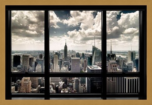 Framed Framed New York View - New York City