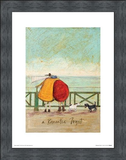 Framed Framed A Romantic Tryst - Sam Toft