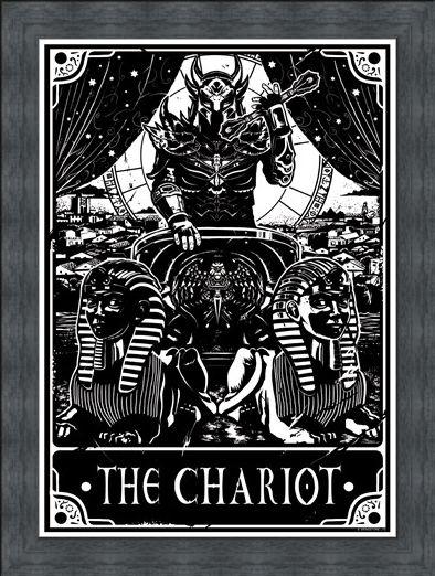 Framed Framed The Chariot - Deadly Tarot