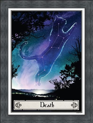 Framed Framed Death - Deadly Tarot Felis