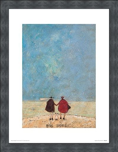 Framed Framed Sharing Out The Chips - Sam Toft