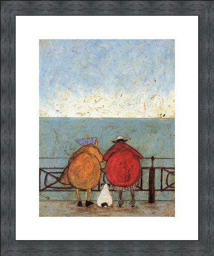 Framed Framed Doris Earwigging - Sam Toft