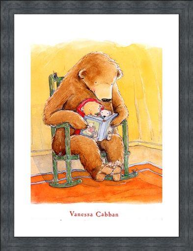 Framed Framed Love is a Handful of Honey - Vanessa Cabban