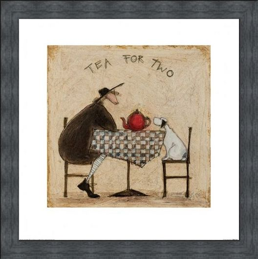 Framed Framed Tea for Two - Sam Toft