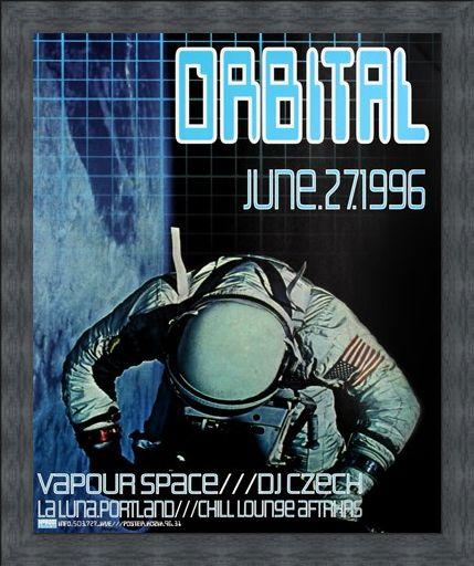 Framed Framed Orbital - Frank Kozik