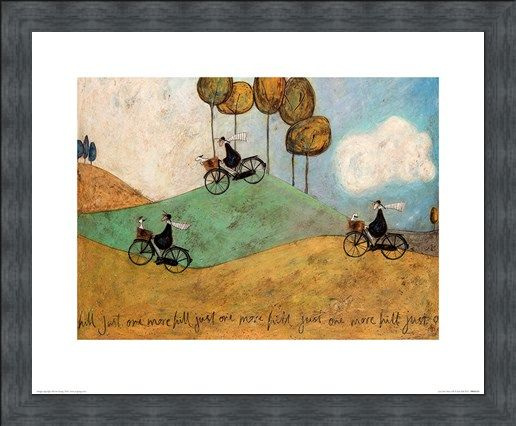 Framed Framed Just One More Hill - Sam Toft