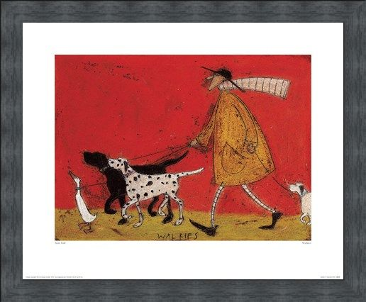 Framed Framed Walkies - Sam Toft