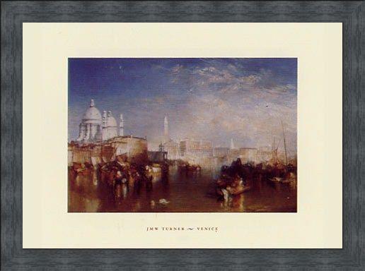 Framed Framed Venice,  1840 - Joseph Mallard William Turner