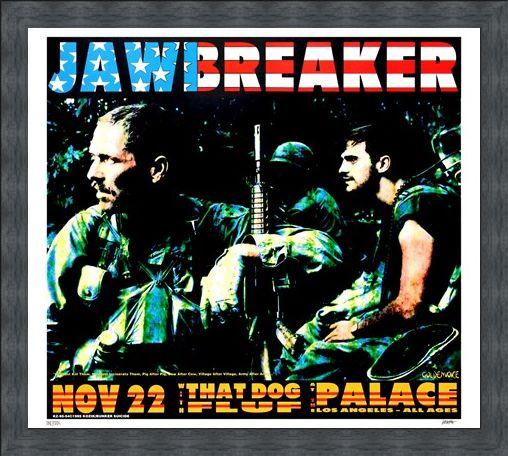 Framed Framed Jawbreaker - Frank Kozik
