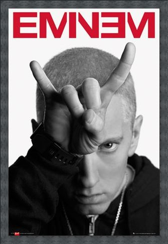 Framed Framed Horns - Eminem