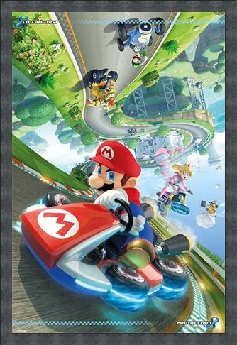 Framed Framed Flip - Mario Kart 8