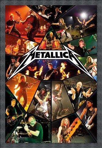 Framed Framed Live Montage - Metallica