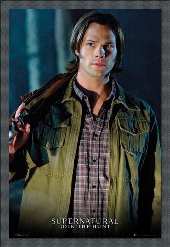 Framed Framed Jared Padalecki is Sam Winchester - Supernatural