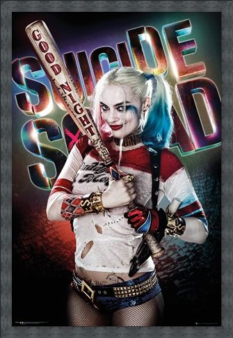 Framed Framed Harley Quinn Good Night - Suicide Squad