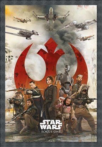 Framed Framed Rebels - Star Wars Rogue One