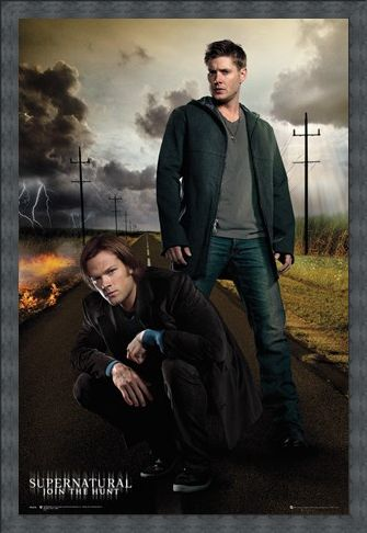 Framed Framed Join The Hunt - Supernatural Dean And Sam