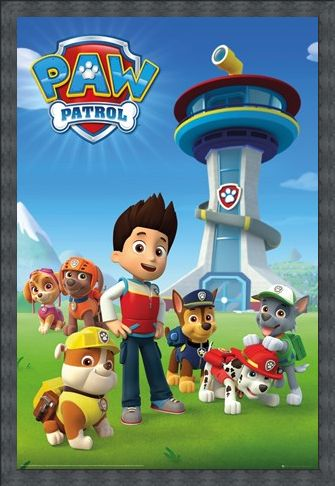 Framed Framed A Team Of Puppies - Paw Patrol