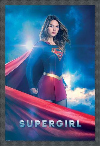 Framed Framed Kara Zor-El - Supergirl
