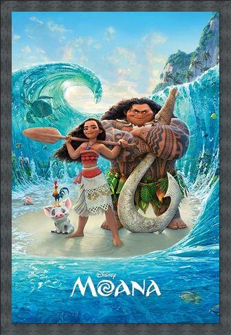 Framed Framed Magical Sea - Disney's Moana