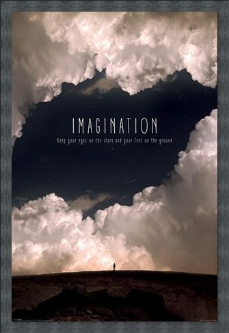 Framed Framed Imagination - Motivational