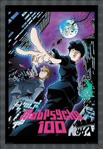 Framed Framed Mob Psycho 100 City - Duo