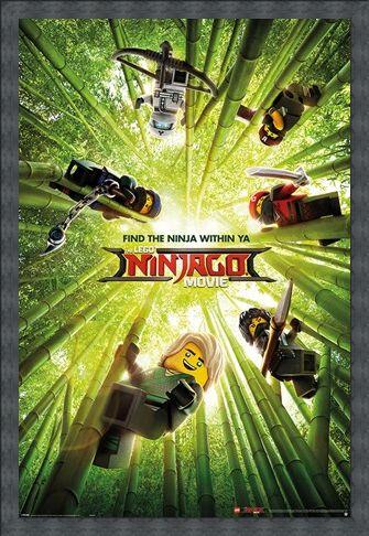 Framed Framed Bamboo - LEGO® Ninjago Movie