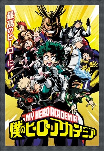 Framed Framed Season 1 Cast - My Hero Academia