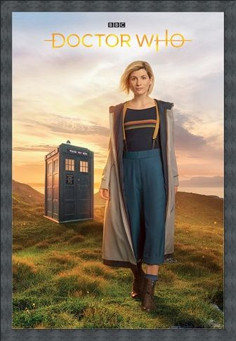 Framed Framed 13th Doctor - Doctor Who