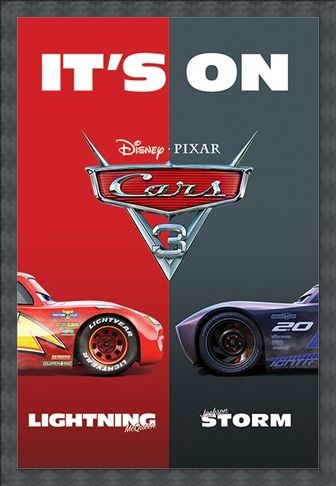 Framed Framed It's On - Cars 3