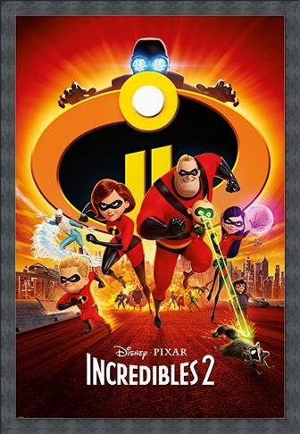 Framed Framed The Super Five To The Rescue! - Incredibles 2