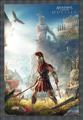 Framed Framed Odyssey Keyart - Assassins Creed