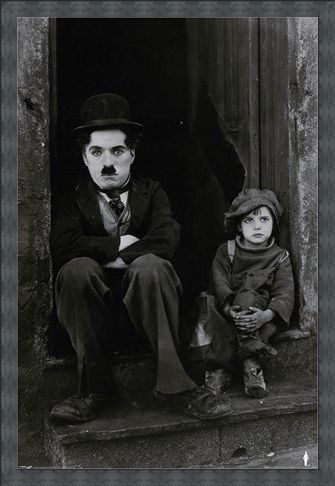 Framed Framed The Kid - Charlie Chaplin