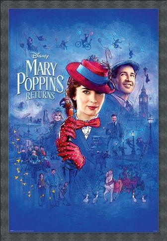 Framed Framed Spit Spot - Mary Poppins Returns