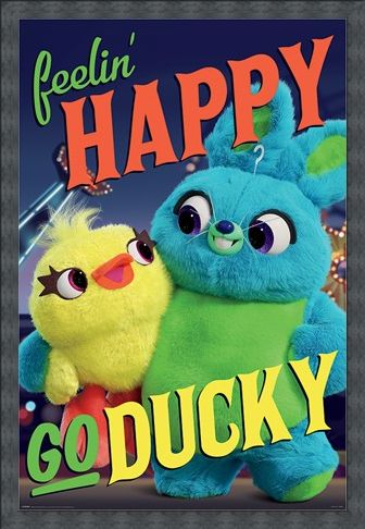 Framed Framed Happy-Go-Ducky - Toy Story 4