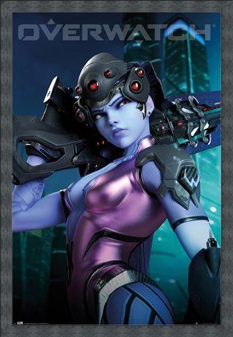 Framed Framed Widow Maker - Overwatch
