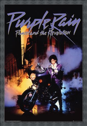 Framed Framed Purple Rain - Prince