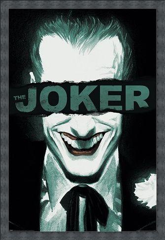Framed Framed Put on a Happy Face - The Joker
