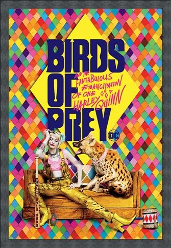 Framed Framed Harley's Hyena - Birds Of Prey