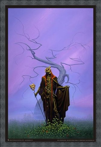 Framed Framed Destroying Angel - Michael Whelan