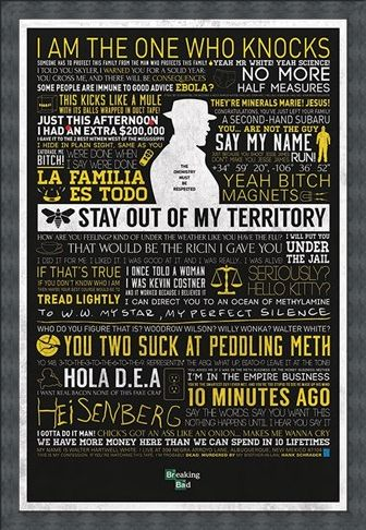Framed Framed The Many Sayings Of Walter White - Breaking Bad