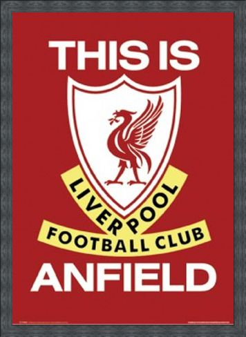 Framed Framed This Is Anfield (Liverpool Football Club Badge) - Liverpool Football Club