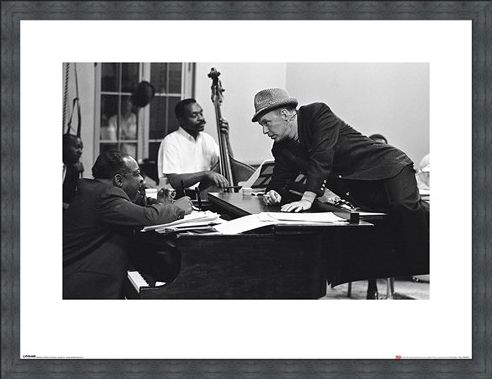 Framed Framed Frank Sinatra - Piano - Time Life