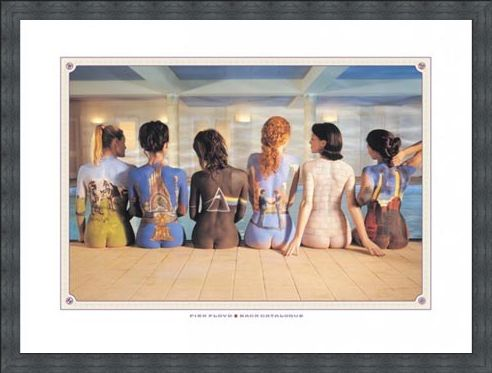 Framed Framed Back Catalogue Campaign Poster - Pink Floyd